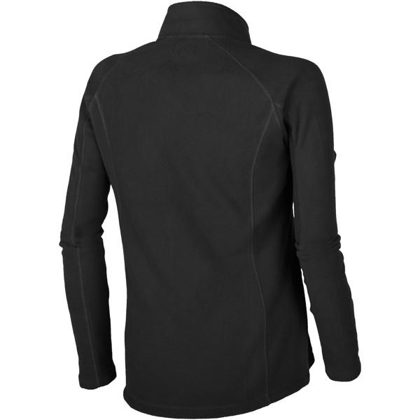 Rixford women's full zip fleece jacket - Solid black / XS
