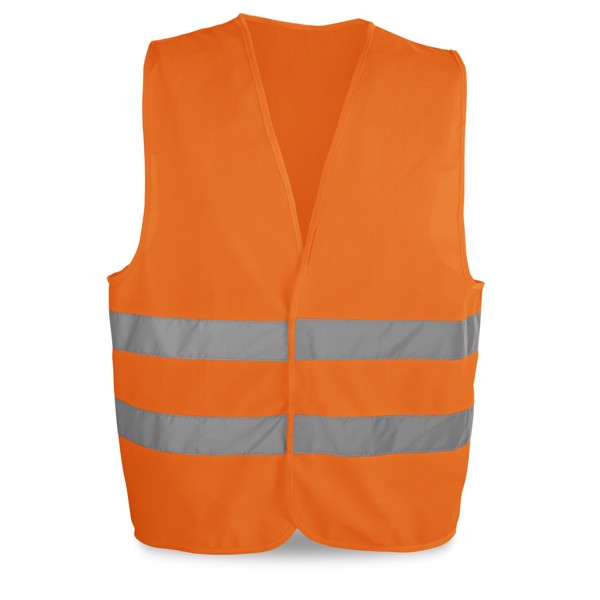 YELLOWSTONE. High visibility vest - Orange
