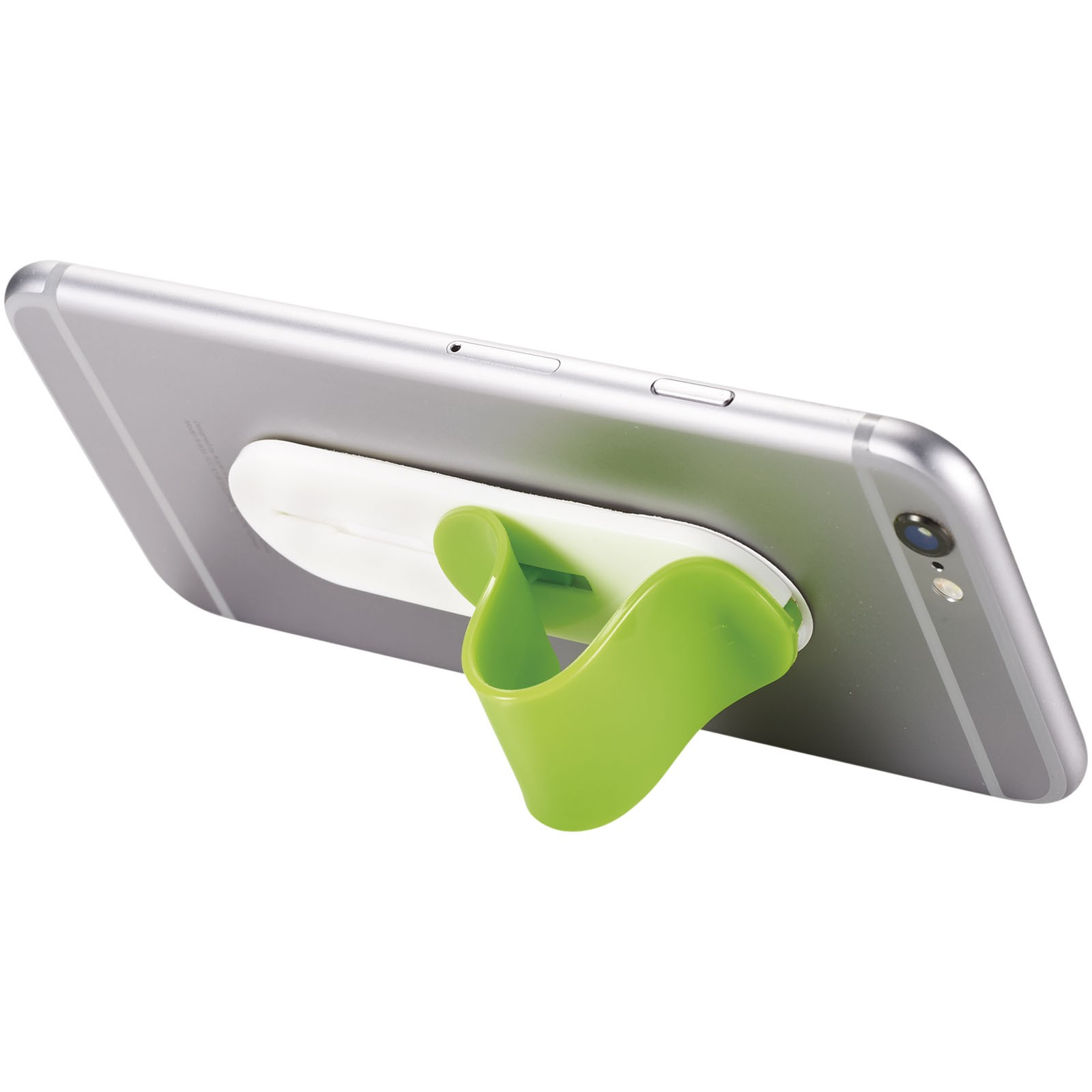 Compress smartphone stand - Lime