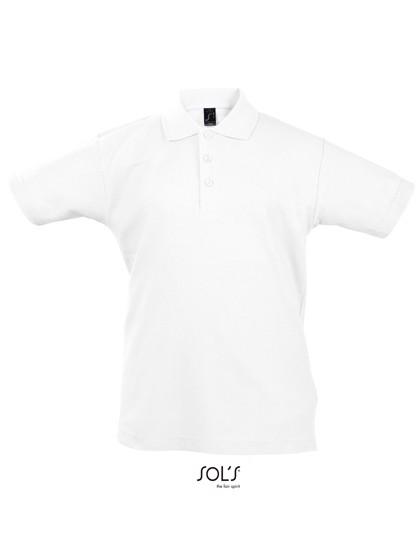 Kids` Summer Polo Ii - White / 12 years (142-152)