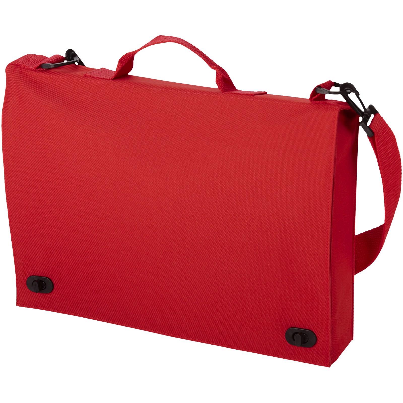 Konferenční taška Santa Fe - Červená s efektem námrazy
