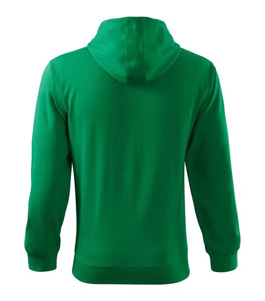 Mikina pánská Malfini Trendy Zipper - Středně Zelená / 2XL