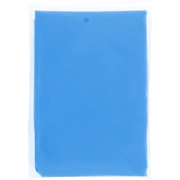 "Poncho impermeable desechable con funda ""Ziva"" - Azul Real"