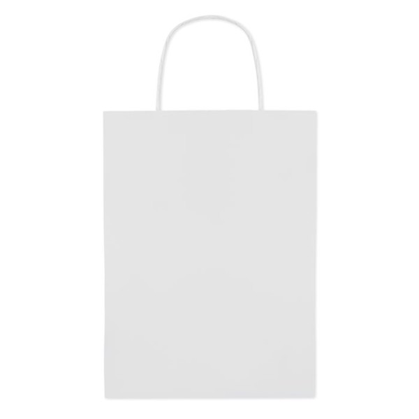 Gift paper bag medium size Paper Medium - White