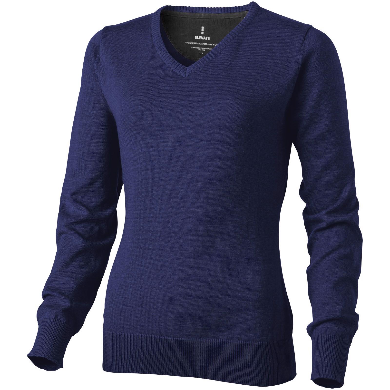 Spruce women's v-neck pullover - Navy / S