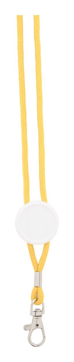 Lanyard Perux - Žlutá