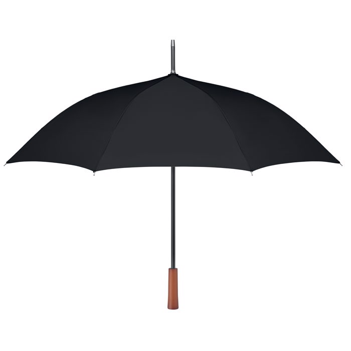 "23"" wooden handle umbrella Galway - Black"