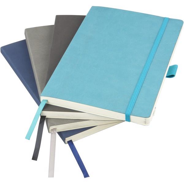 Revello zápisník A5 s měkkými deskami - Tyrkysová