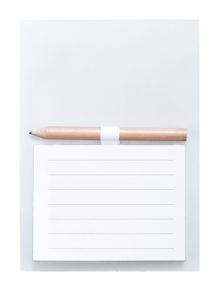 Magnetic Notepad Yakari - White