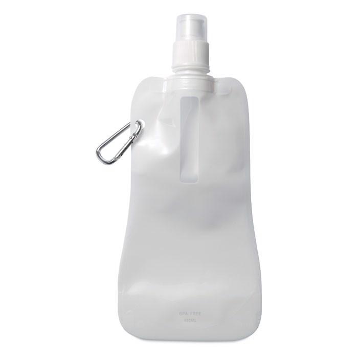 Skládací láhev na vodu Gates - white