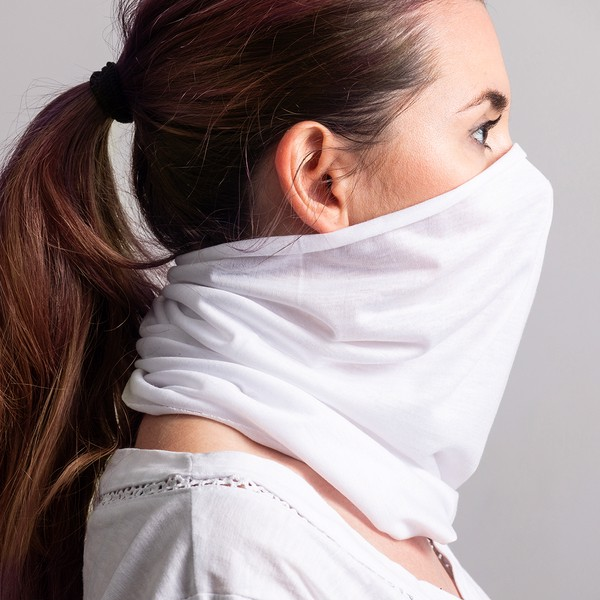 Gaitero face & neck covering - White