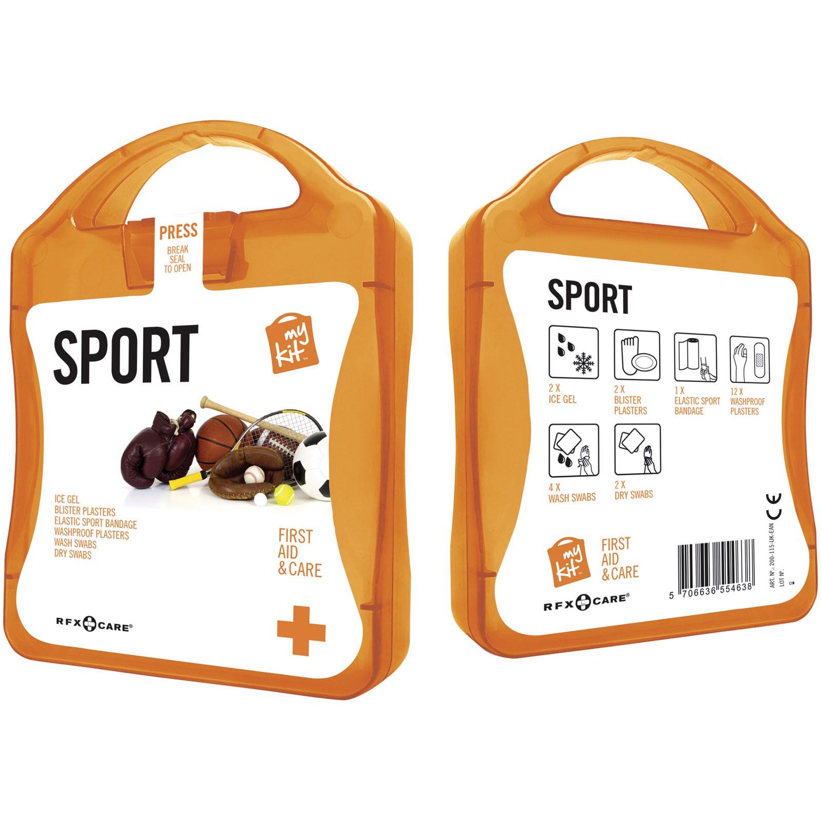 Lékarnička pro sportovce - 0ranžová