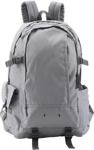 Rucksack 'Explorer' aus Ribstop - Grey