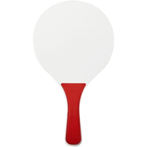 Zestaw do gier plażowych Bounce - Czerwony / Biały
