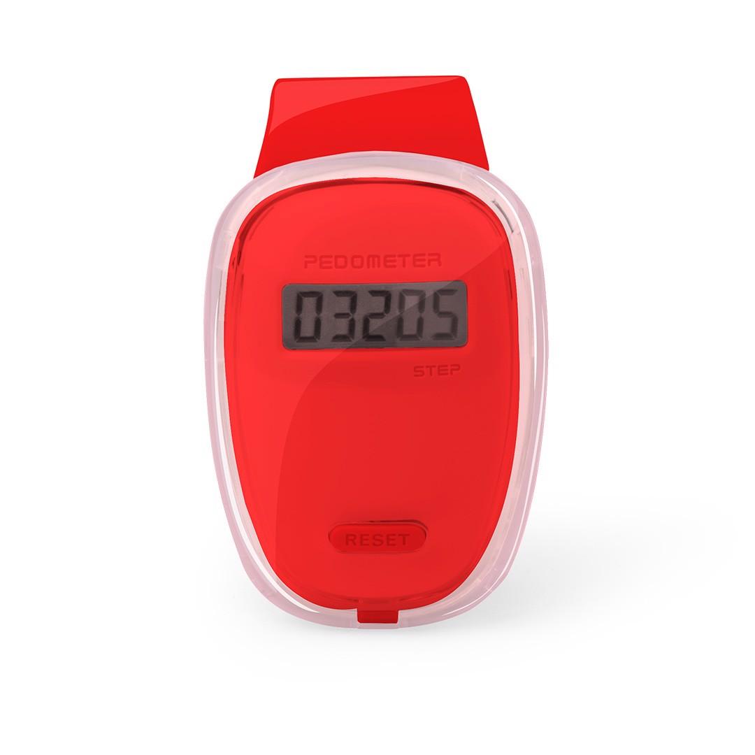 Podómetro Ferrium - Rojo