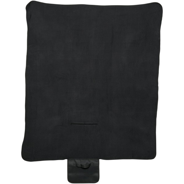 Meadow fleece blanket - Solid black