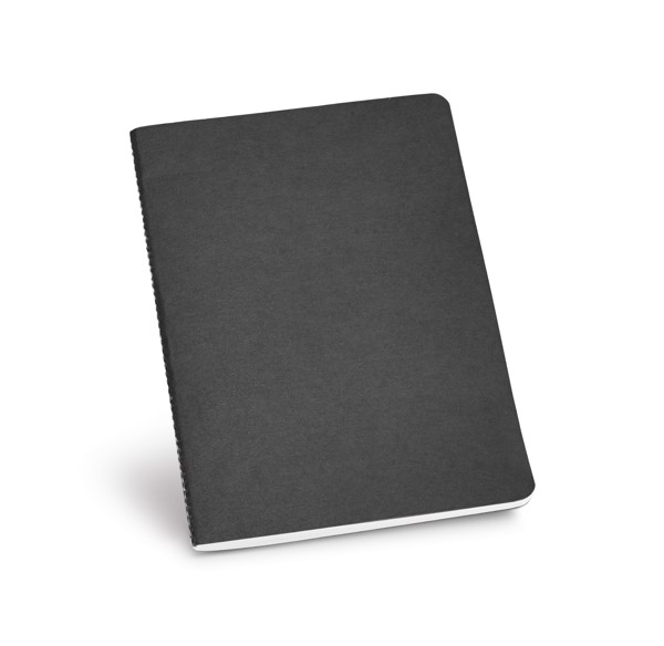ECOWN. A5 Notepad - Black