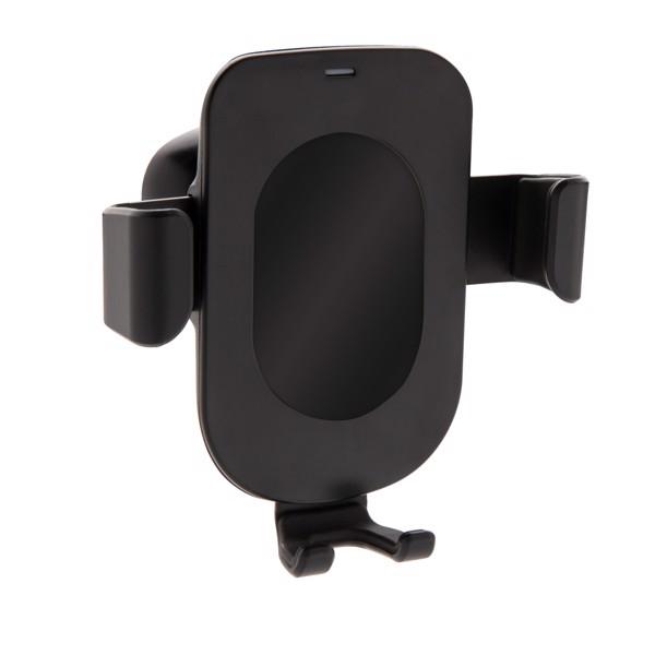5W bezdrátově nabíjecí držák telefonu do auta Gravity