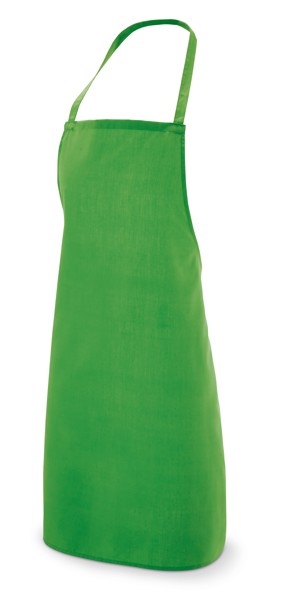 CURRY. Apron in cotton and polyester - Light Green