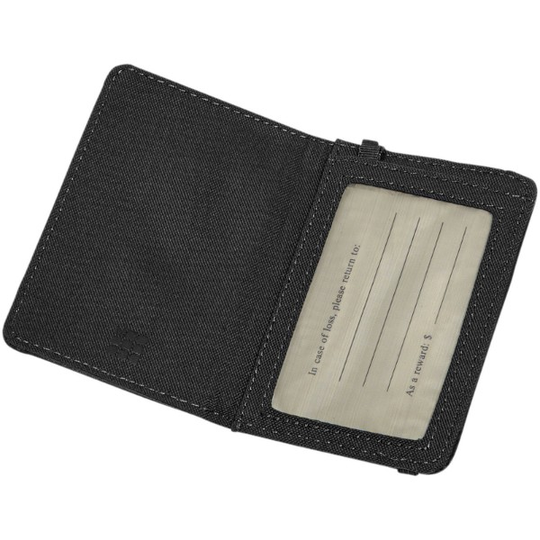 Classic luggage tag - Solid black