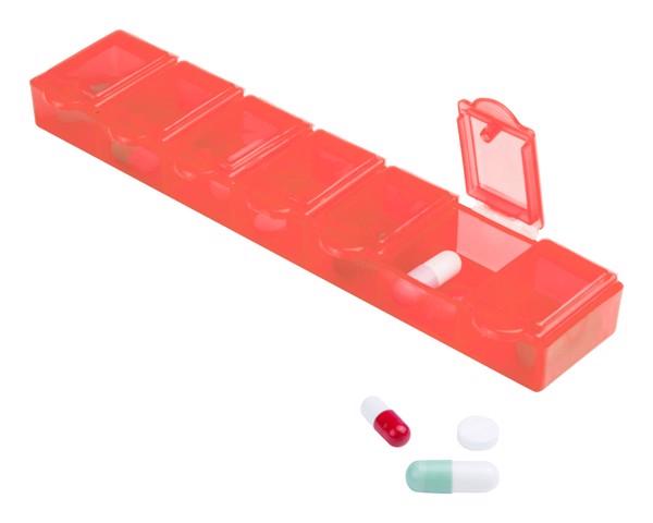 Box Na Pilulky Lucam - Červená