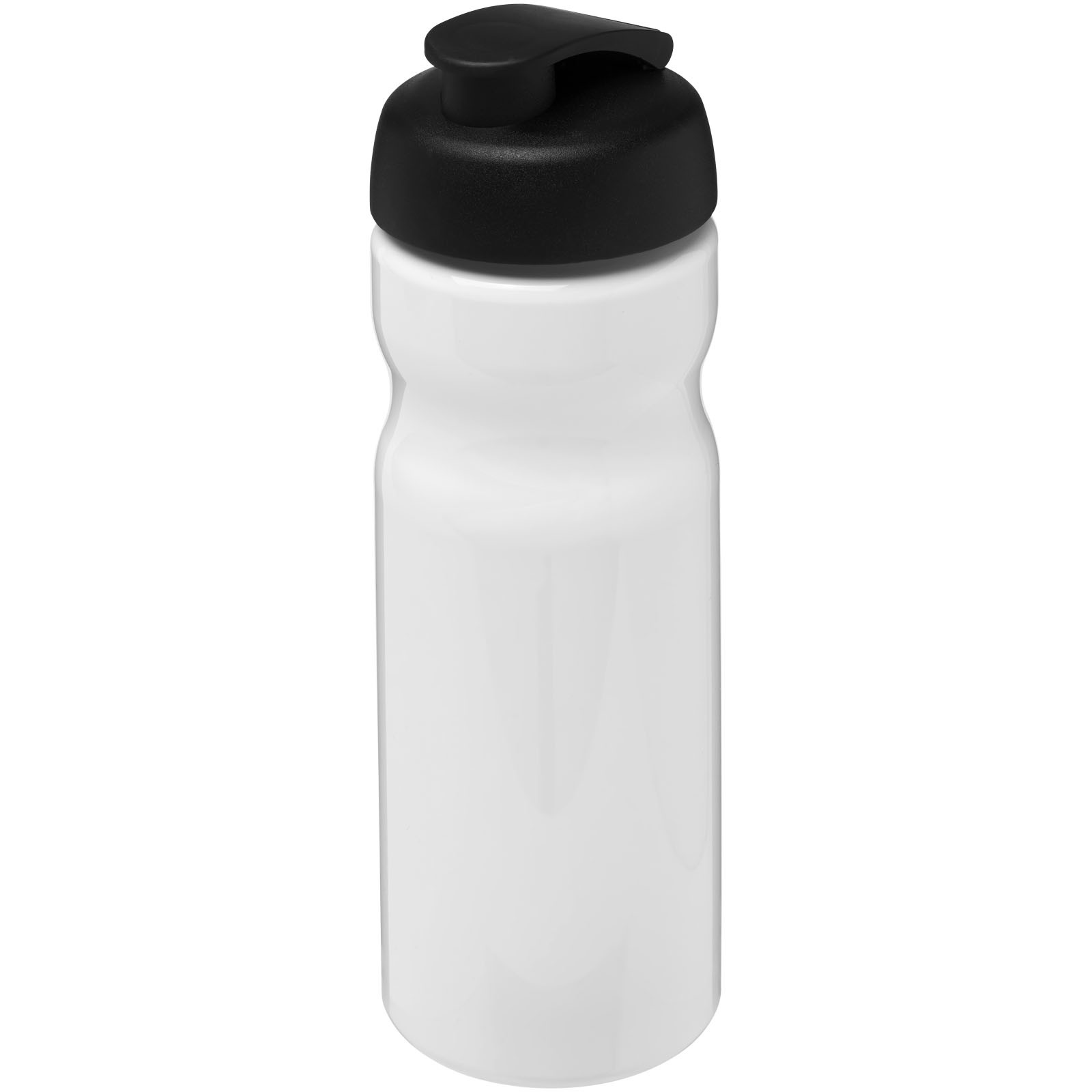 H2O Base® 650 ml flip lid sport bottle - White / Solid black