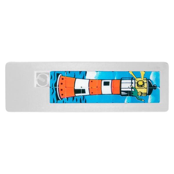 "Sliding Puzzle ""Space 14"" - White"