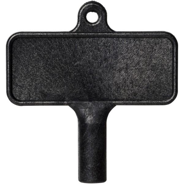Plastový klíč na radiátor Largo - Černá