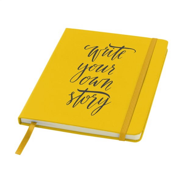 BudgetNote A5 Lines - Yellow