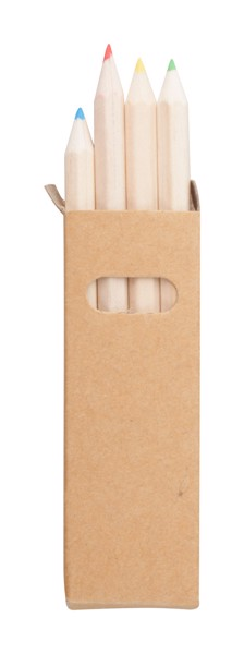 Set Of 4 Pencils Tynie - Natural / Natural
