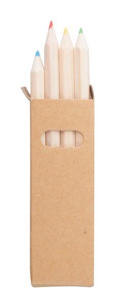 Komplet 4 svinčnikov Tynie  - Natural