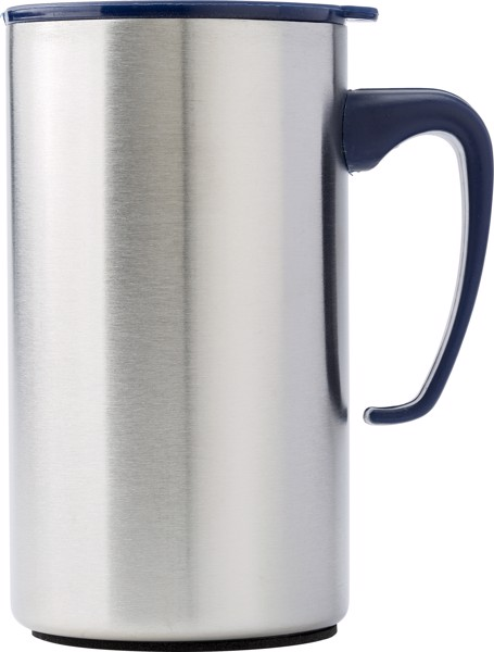 Stainless steel double walled flask - Blue