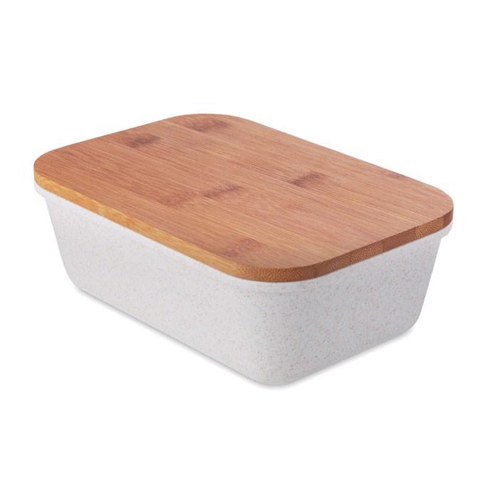 Lunch-Box mit Bambus Deckel Fancy Lunch