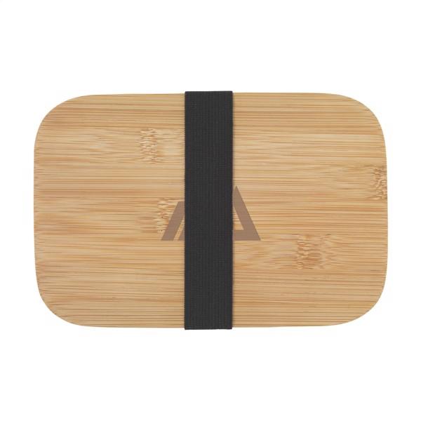 Midori ECO Bamboo Fibre Lunchbox - Black