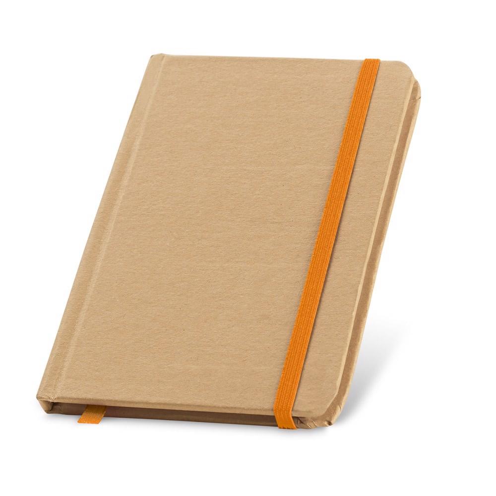 FLAUBERT. Bloc de notas de bolsillo - Naranja