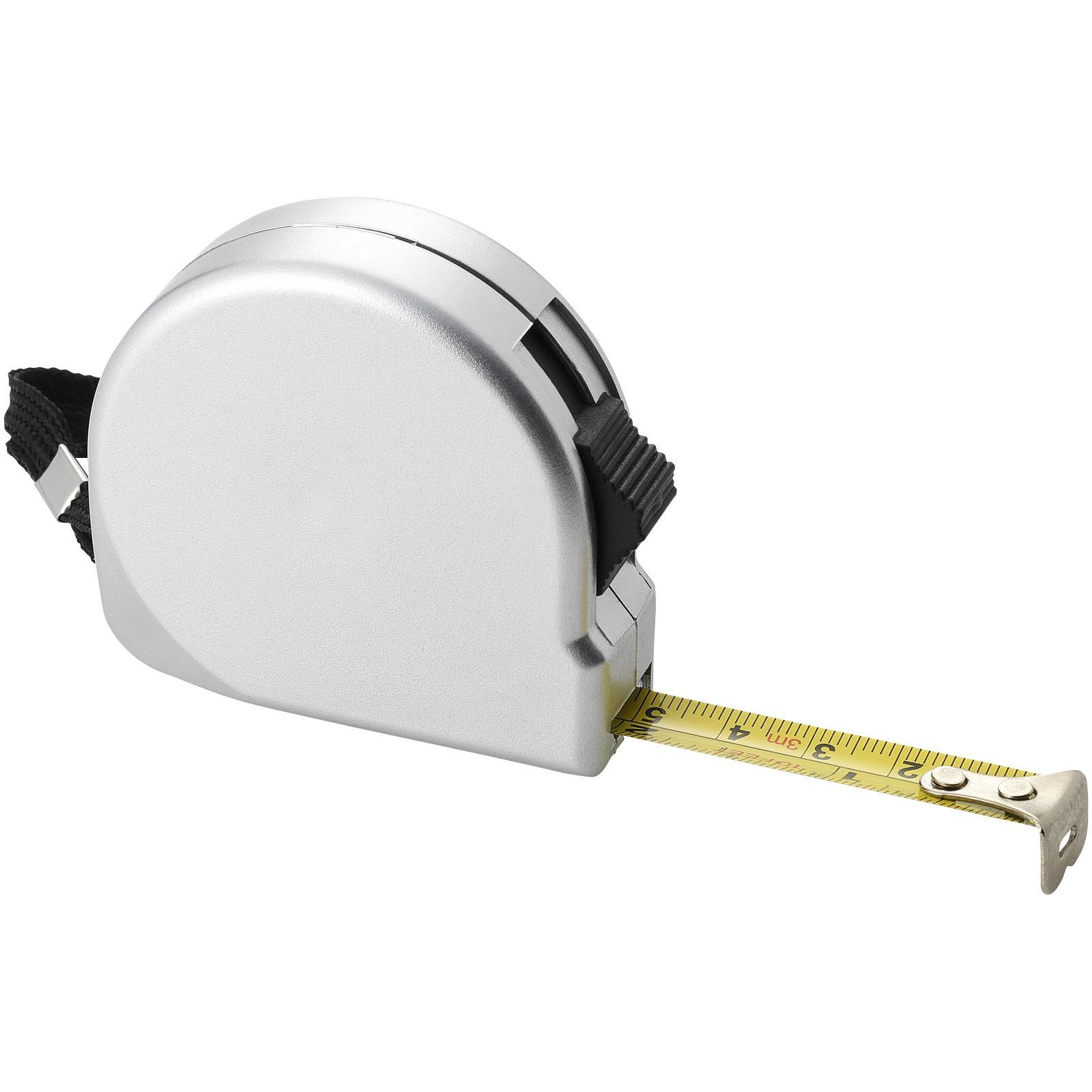Měřicí pásmo Clark, 3 m - Stříbrný