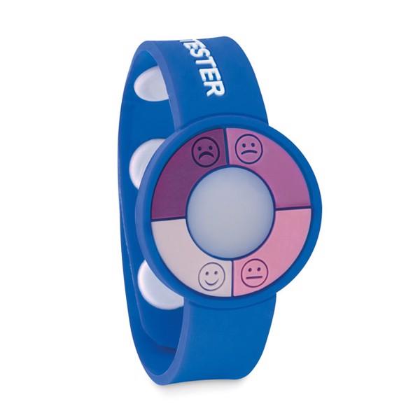 Opaska UV na rękę Uv Check - niebieski