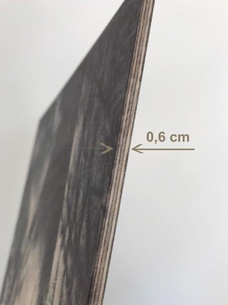 Dřevěný obraz Airplane