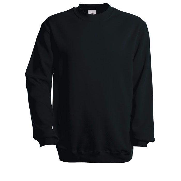 Sweatshirt Set In Sweatshirt - Black/Black Opal / 3XL