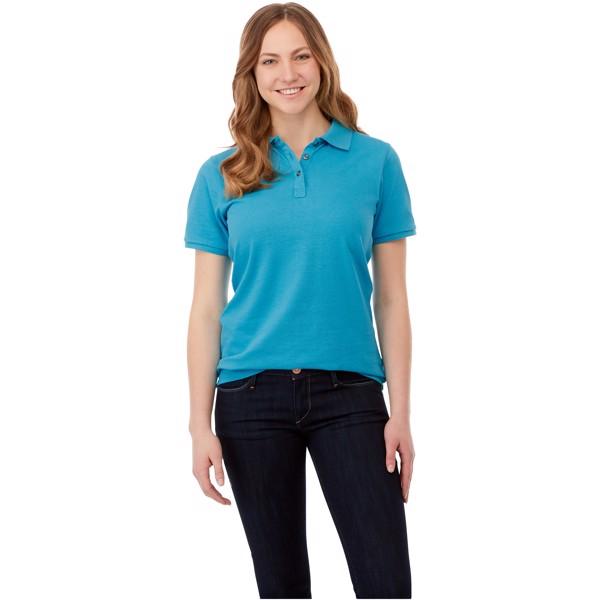 Beryl short sleeve women's GOTS organic GRS recycled polo - White / XS
