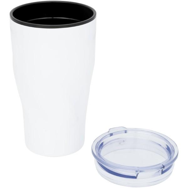 Hugo 420 ml insulated tumber - White