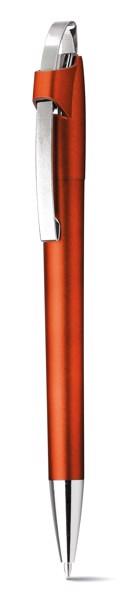 MAGNUS. Kuličkové pero s kovovým klipem - Oranžová