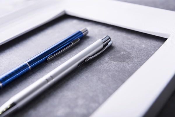 Bolígrafo Beikmon - Plateado