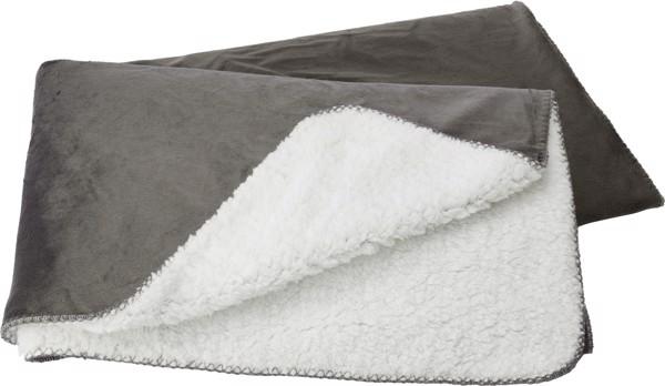 Polyester (190 gr/m²) blanket - Grey
