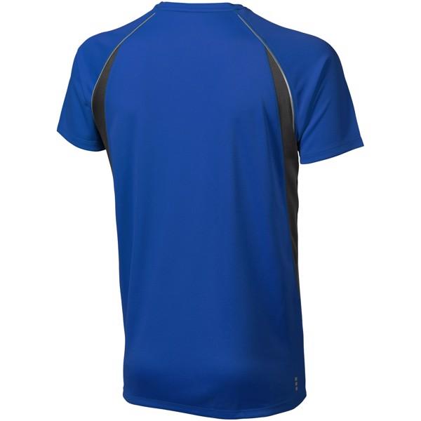 Pánské Tričko Quebec s krátkým rukávem, cool fit - Modrá / Anthracitová / L