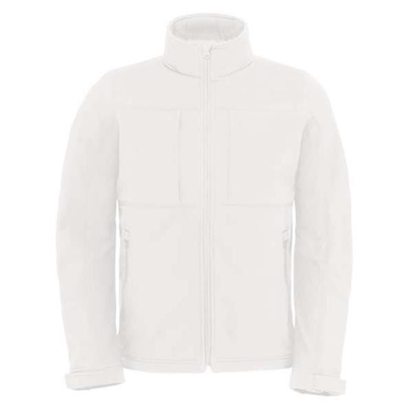 Hooded Softshell - Branco / S