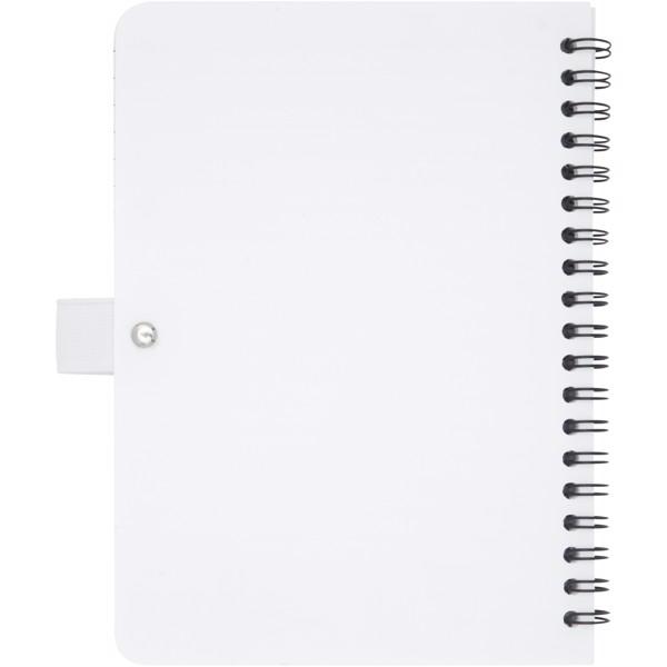 Naima Midi anti-bacterial notebook - White