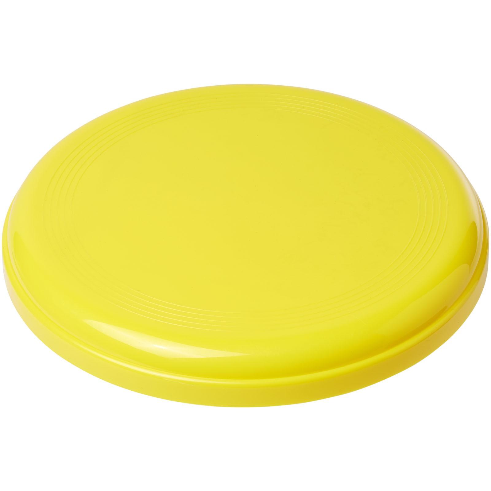 Cruz medium plastic frisbee - Yellow
