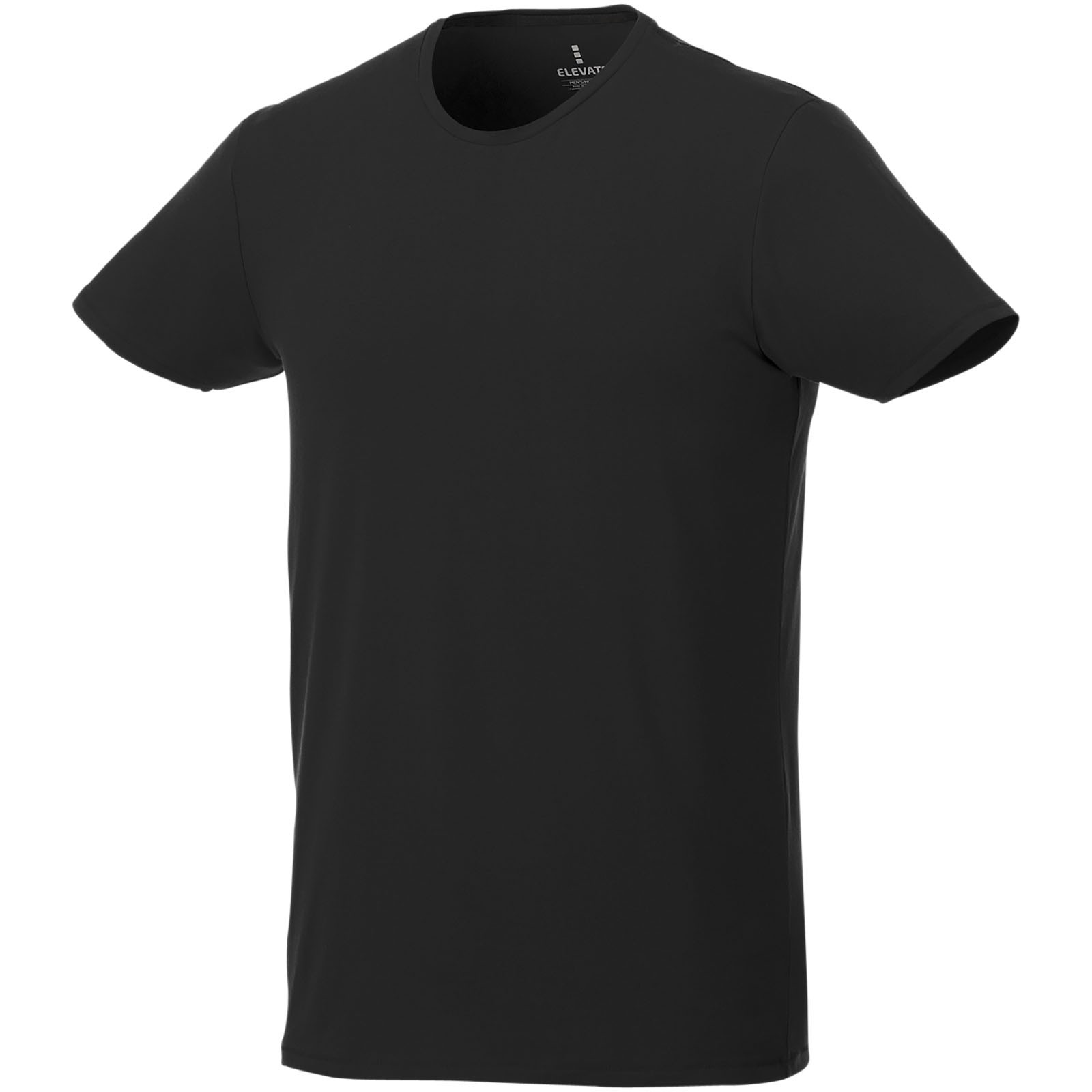Balfour short sleeve men's GOTS organic t-shirt - Solid black / L