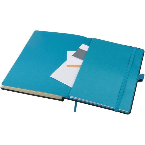 Barevný zápisník s pevnými deskami Meyla A5 - Černá